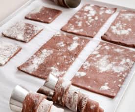 Pasta sfoglia al cacao