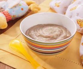 Crema di avena con pere (7-9 mesi)