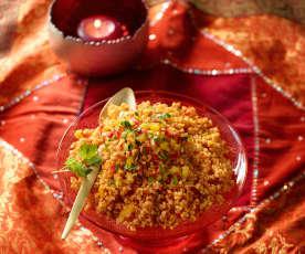 Bulgur-Gemüse-Pilaw - Sebzeli Bulgur Pilavı