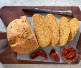 Pane ai pomodorini secchi e rosmarino