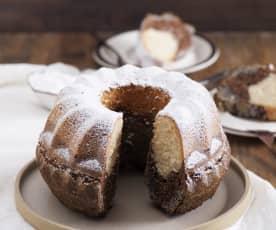 Triple layer bundt cake