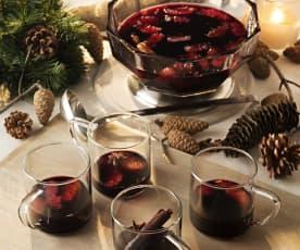 Vin chaud alsacien (Vino caliente de Alsacia)