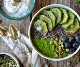 Bol de smoothie verde (Carmen Tía Alia)