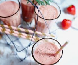 Möhren-Erdbeer-Smoothie