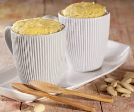 Mug cake de limón y almendra