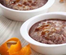 Crema catalana al cioccolato