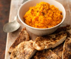 Cajun Chicken and Sweet Potato Mash