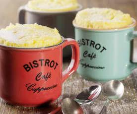 Yogurt mug cake