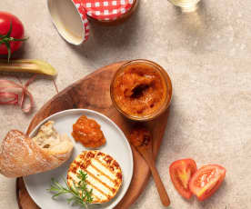 Rhabarber-Tomaten-Marmelade