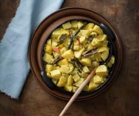 Curry ziemniaczane (Ala hodi)
