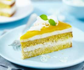 Mango-Möhren-Torte
