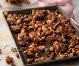Spiced Nuts with Cranberries