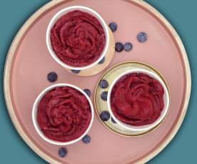 Frozen-Heidelbeer-Joghurt