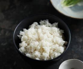 Arroz jazmín (Cocción de arroz)