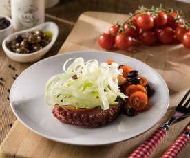 Polpo con olive taggiasche