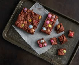 Bunte Brownies