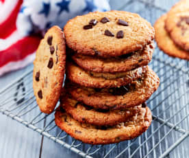 Peanutbutter-Oatmeal-Cookies