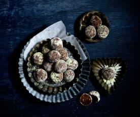 Schokolade-Limetten-Truffes