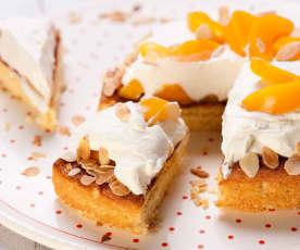 Aprikosen-Mandel-Torte