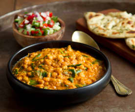 Chickpea and Tomato Rogan Josh