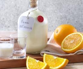 Crema di liquore all'arancia