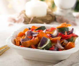 Herb Roasted Potatoes and Vegetables