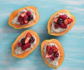 Frozen breakfast bowls