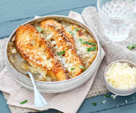 Soupe à l'oignon (recette momentanément indisponible)