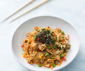 Kimchi non-fried rice