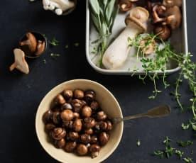 Restované houby (300 gramů)