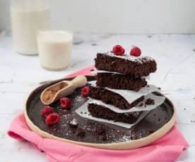 Rote Rüben Brownies