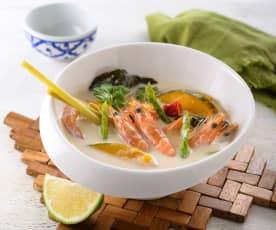 香菜椰汁蝦