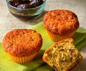 Muffin integrali alle prugne