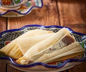 Tamales de frijol Veracruzanos