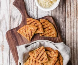 Soft and Cheesy Pita Bread