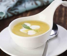 Linsen-Orangen-Suppe