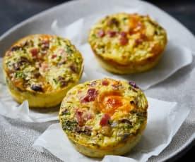 Eier-Gemüse-Muffins