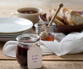 Mixed berry jam