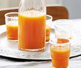 Jus de pomme, carotte et gingembre