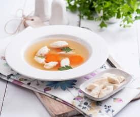 Kuřecí noky do polévky