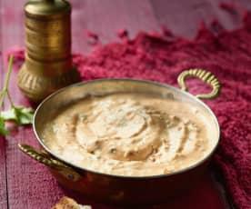 Joghurt-Käsecreme mit getrockneten Tomaten - Kuru Domatesli Haydari