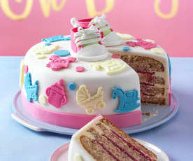 Welcome Baby Torte