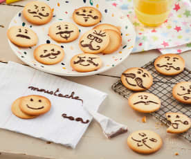 Biscuits 'Monsieur Moustache'