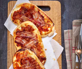 Knusprige Baconschnitten