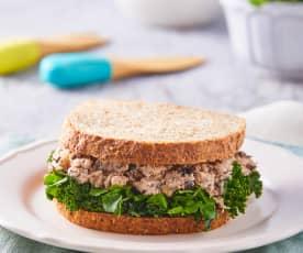 Sándwich alto en proteína
