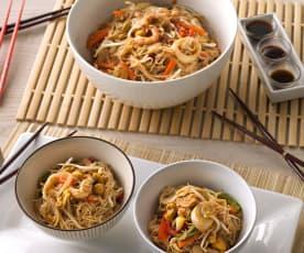 Noodles orientales sin gluten