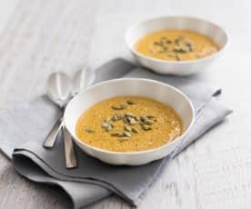 Warming amaranth porridge