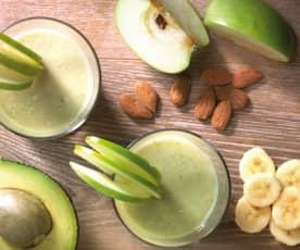 Frullato di avocado e frutta mista