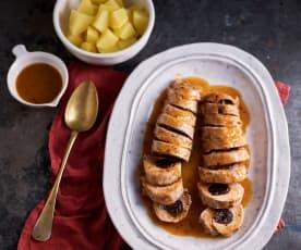 Prune and Sausage-stuffed Pork Fillet