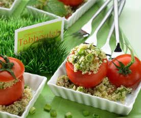 Tomaten mit Tabbouleh